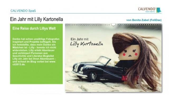 Lilly Kartonella als Kalender verfügbar!