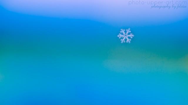 Der Zauber von Schneeflocken