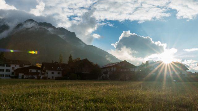 Urlaub in den Bergen - Teil 1