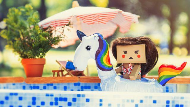 Sommerspaß am Pool